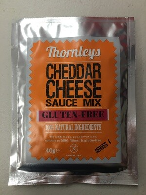 Thornleys Cheddar Cheese Sauce Mix *Gluten Free* 40g