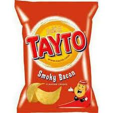 Tayto Smoky Bacon Crisps 37.5g
