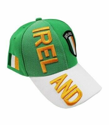 Ireland Cap Green W/Flag