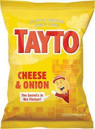 Tayto Cheese & Onion Crisps 37.5g