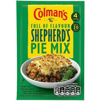 Colman's Shepherd's Pie Mix 50g