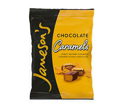 Jamesons Chocolate Caramels Pouch 135g