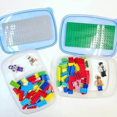 Travel LEGO Bins