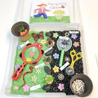 Garden Wonder Sensory Bin