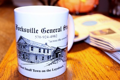 Forksville General Store- White Coffee Mug