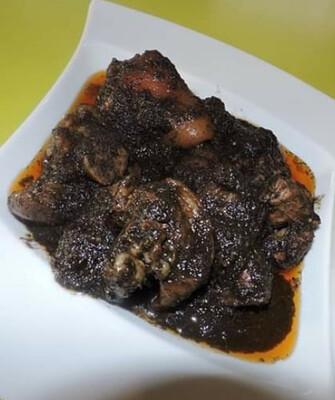 Cameroonian Blackened sauce