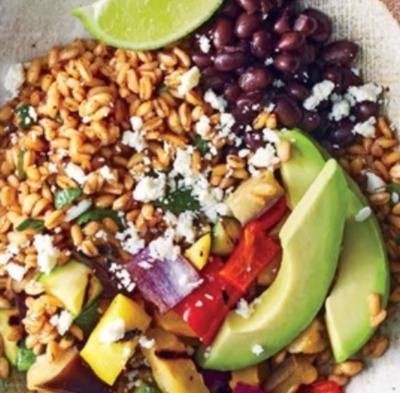 Farro Burrito Bowl