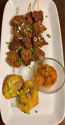 Gluten-free Meatless Cameroonian Suya