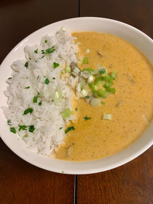 Cameroonian Peanut soup