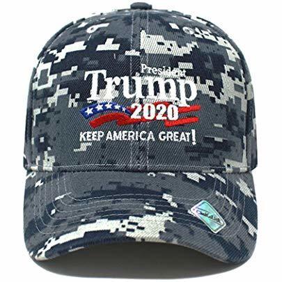 Trump 2020 Keep America Great - Digital Camo Hat