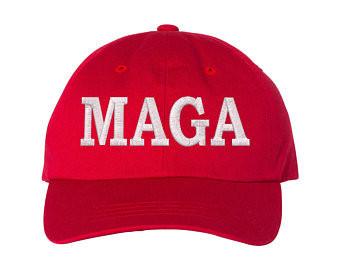MAGA - Red Baseball Hat