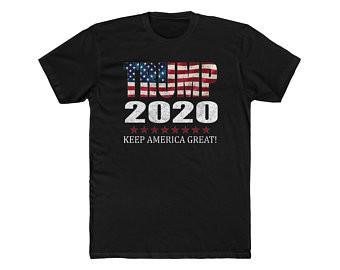 Trump 2020 - Black T-Shirt