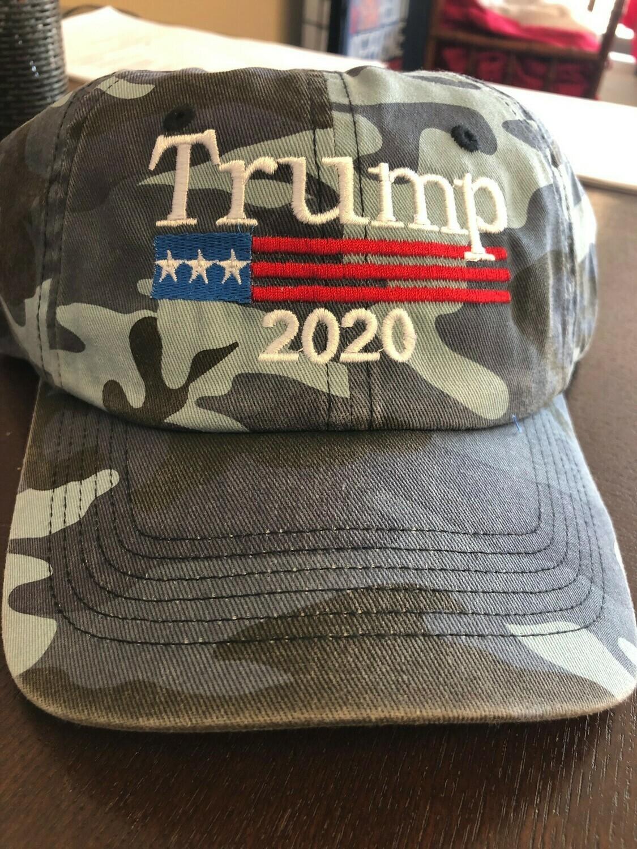 Trump 2020 Keep America Great - Camo Hat