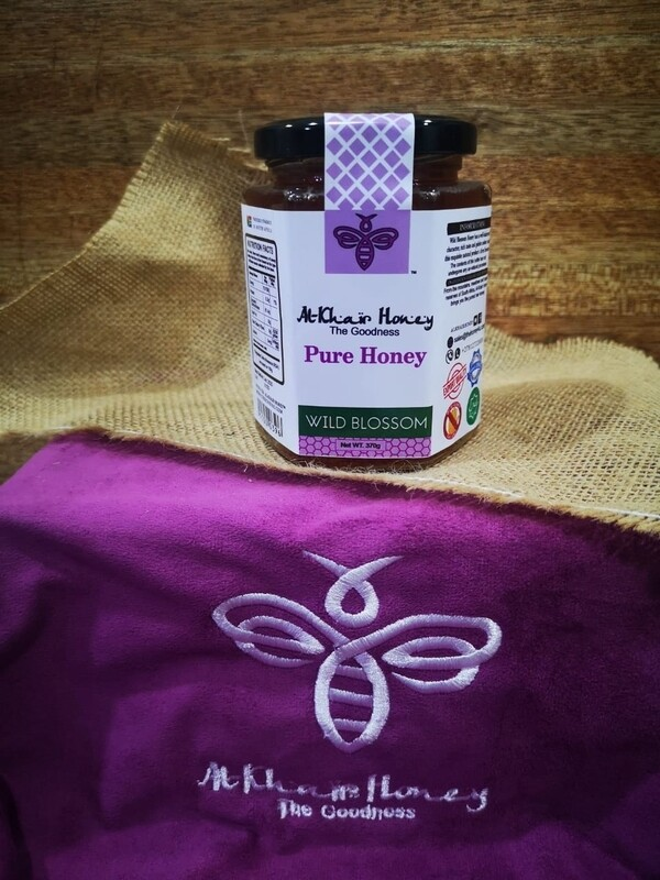 Pure Honey, Wild blossom, 370g Glass Jar