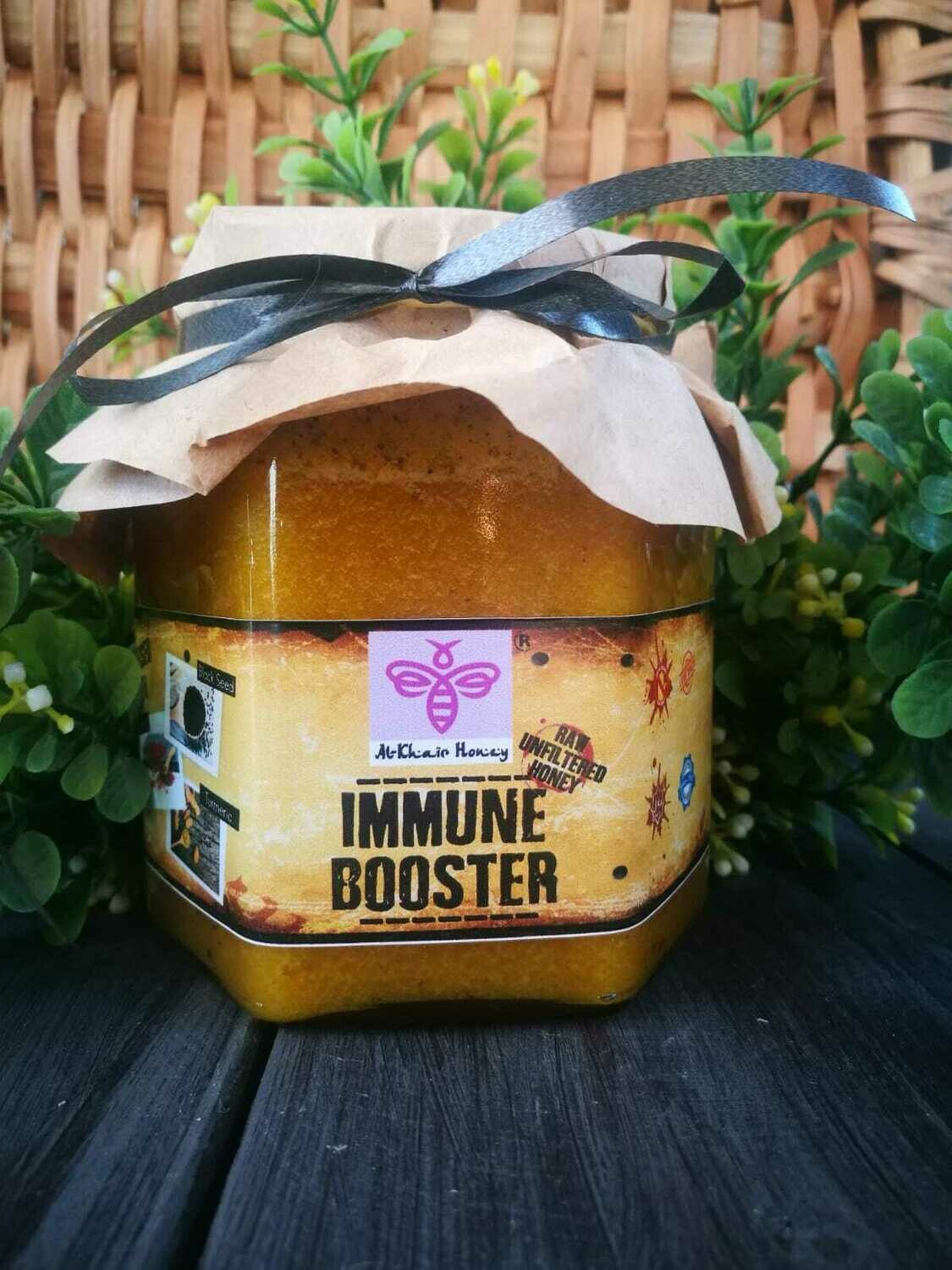 Unfiltered Honey -Infused 500g Glass Jar