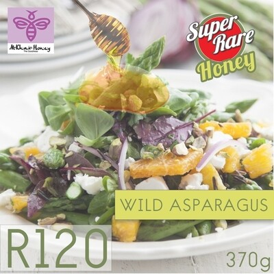 Pure Honey, Wild Asparagus, 370g, Glass Jar
