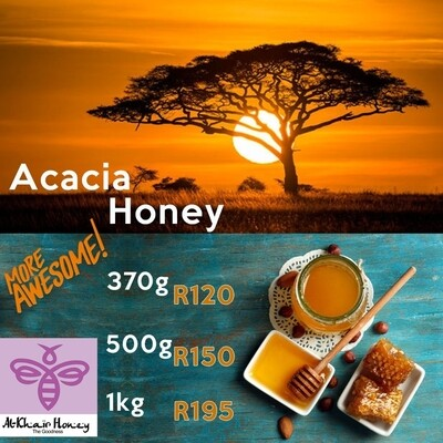 Pure Honey, Acacia, 1kg Tub