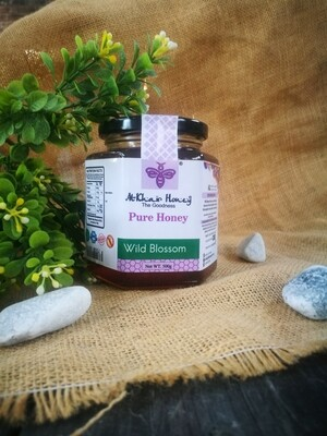Pure Honey, Wild Blossom, 500g Glass Jar