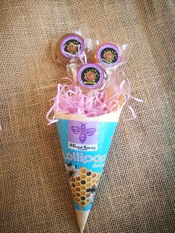 Honey lollipop bouquet