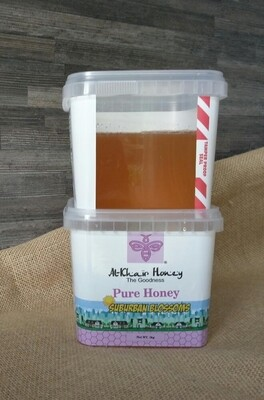Pure Honey, Suburban Blossoms, 1kg Tub