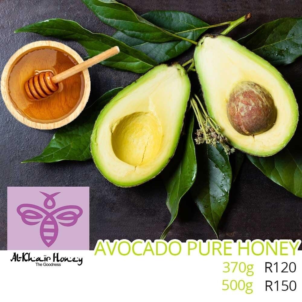 Pure Honey, Avocado Blossom 500g Glass Jar