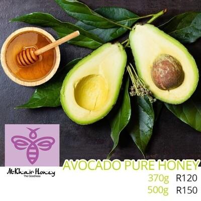 Pure Honey, Avocado Blossom 370g Glass Jar