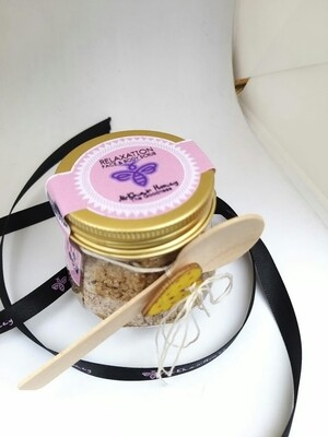 Relaxation, Face and Body Scrub, 100g