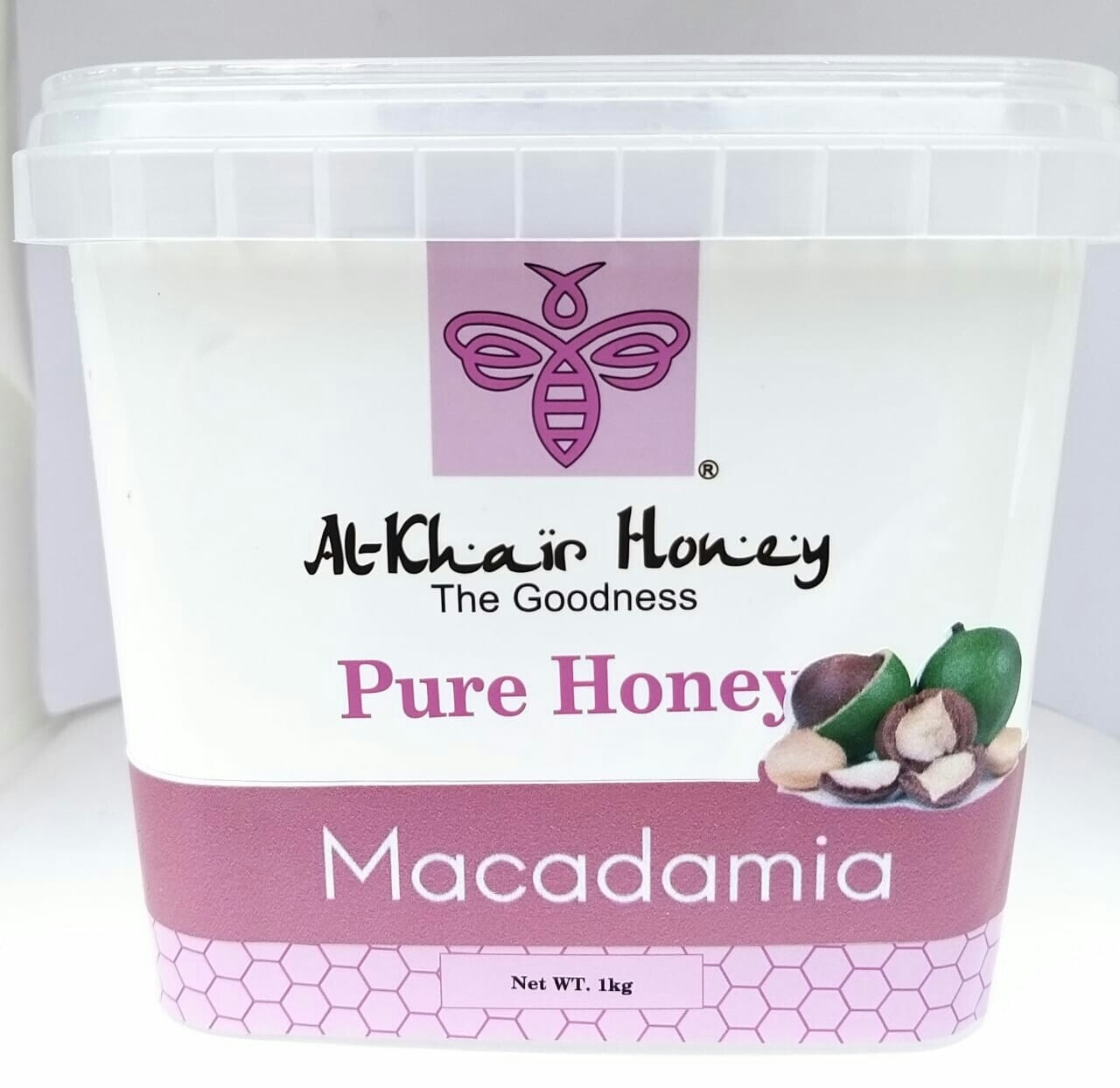 Pure Honey, Macadamia, 1kg Tub