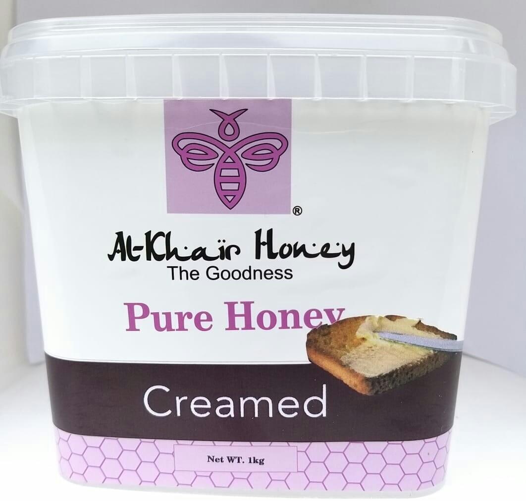 Pure Honey, Creamed, 1kg Tub
