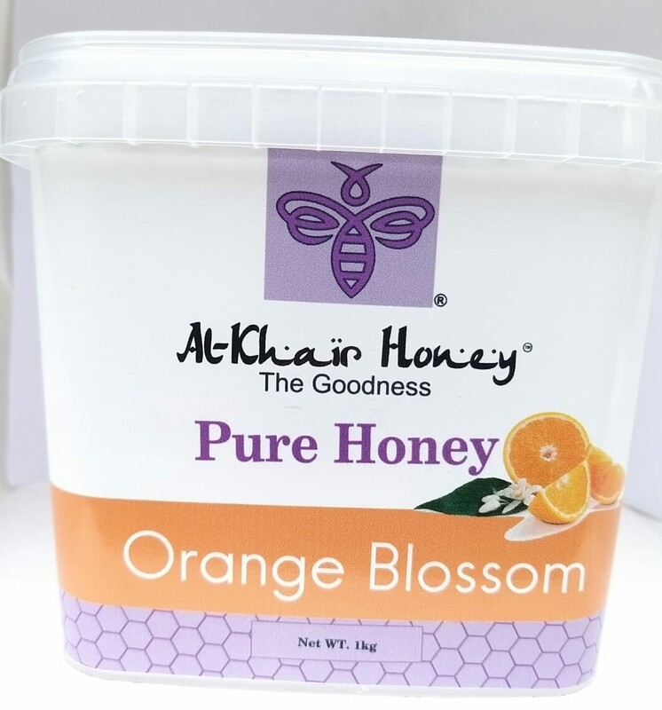 Pure Honey, Orange Blossom, 1kg Tub