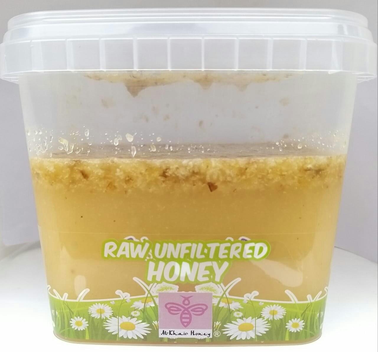 Unfiltered Raw Honey, 1kg Tub