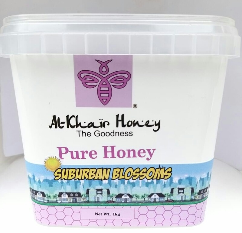 Pure Honey, Suburban Blossoms, 1kg Tub