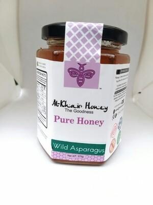 Pure Honey, Wild Asparagus, 370g, Glass Jar