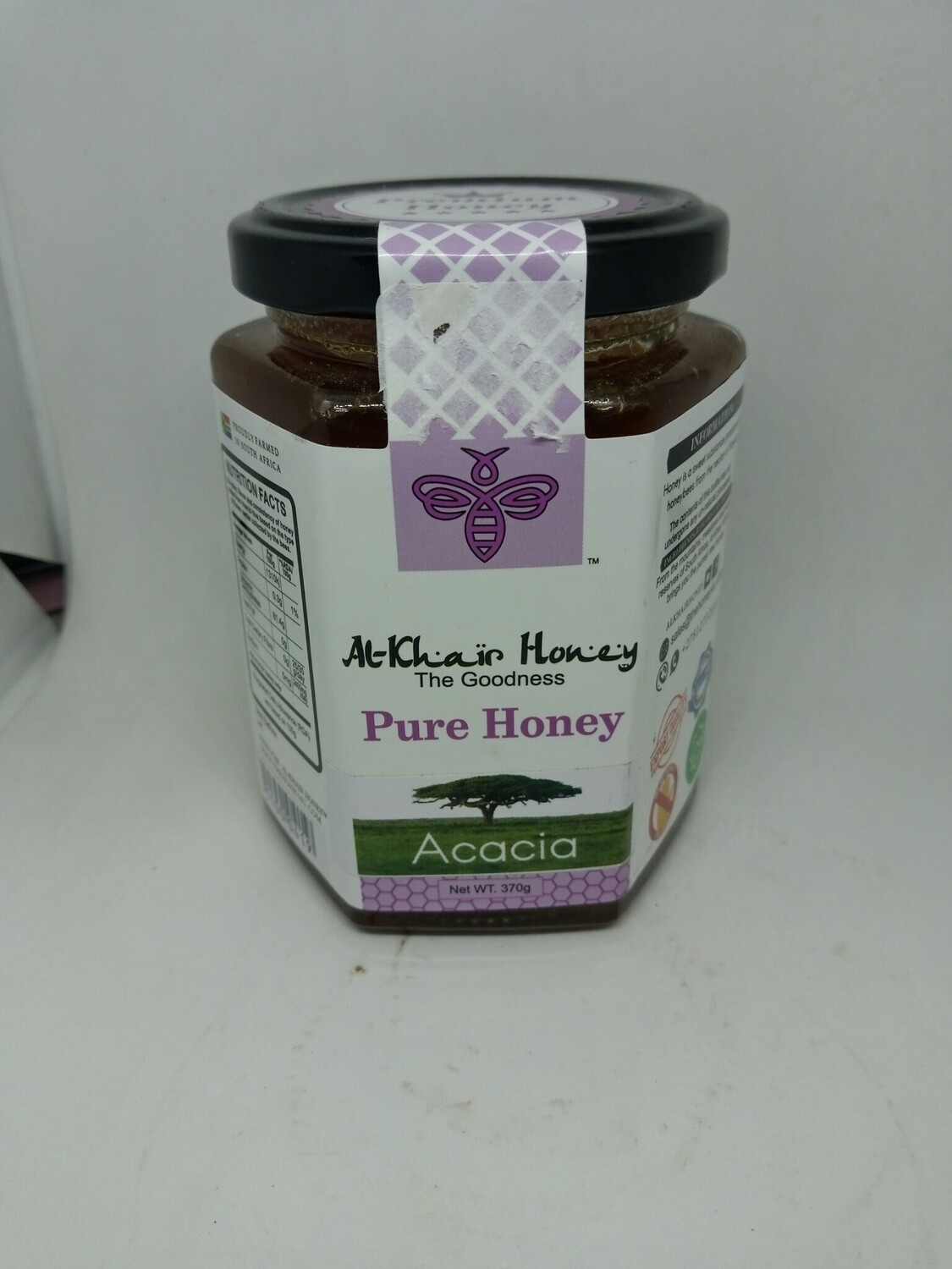 Pure Honey, Acacia 500g Glass Jar