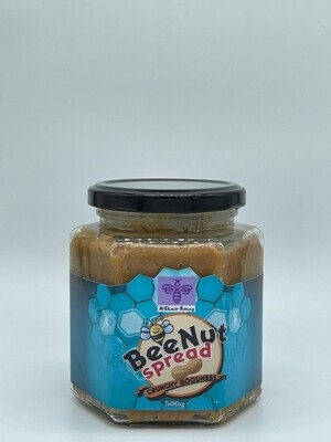 BeeNut Spread, 500g Glass Jar