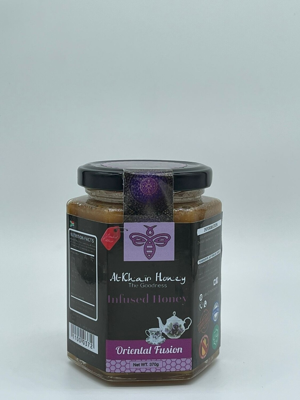 Infused Honey, Oriental Fusion, 370g Glass Jar