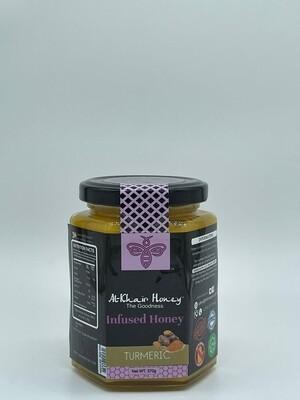 Infused Honey, Turmeric, 370g Glass Jar
