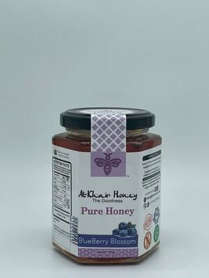Pure Honey, Blueberry Blossom, 370g Glass Jar
