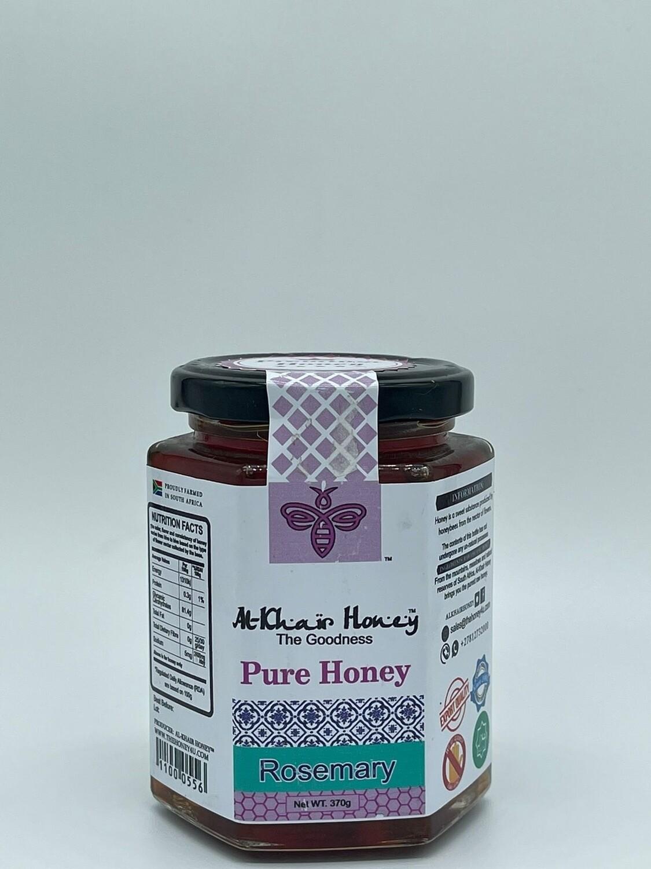 Pure Honey, Rosemary, 370g Glass Jar