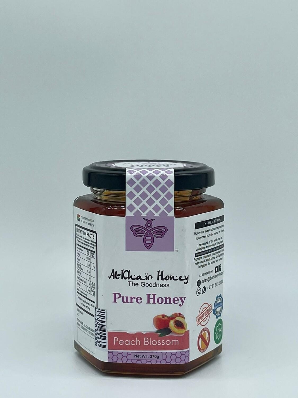Pure Honey, Peach Blossom, 370g Glass Jar