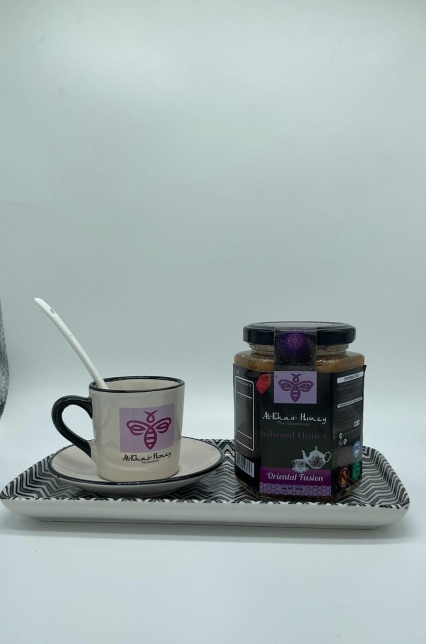 Tea Set, Oriental Fusion, 370g Glass Jar