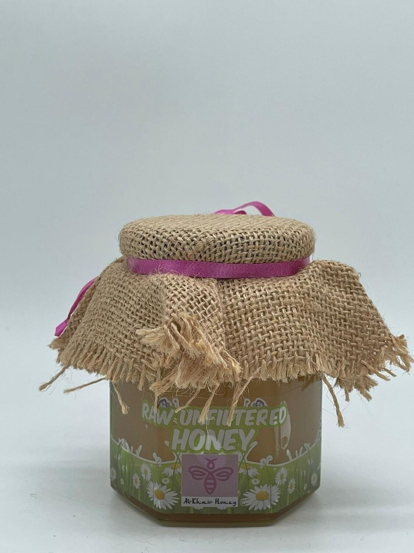 Unfiltered Raw Honey, 500g Glass Jar