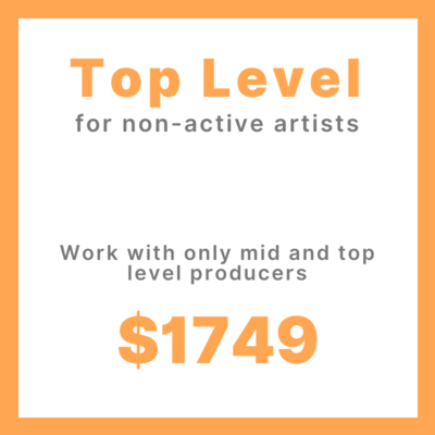 Top Level Song Production Project (non-active artists)