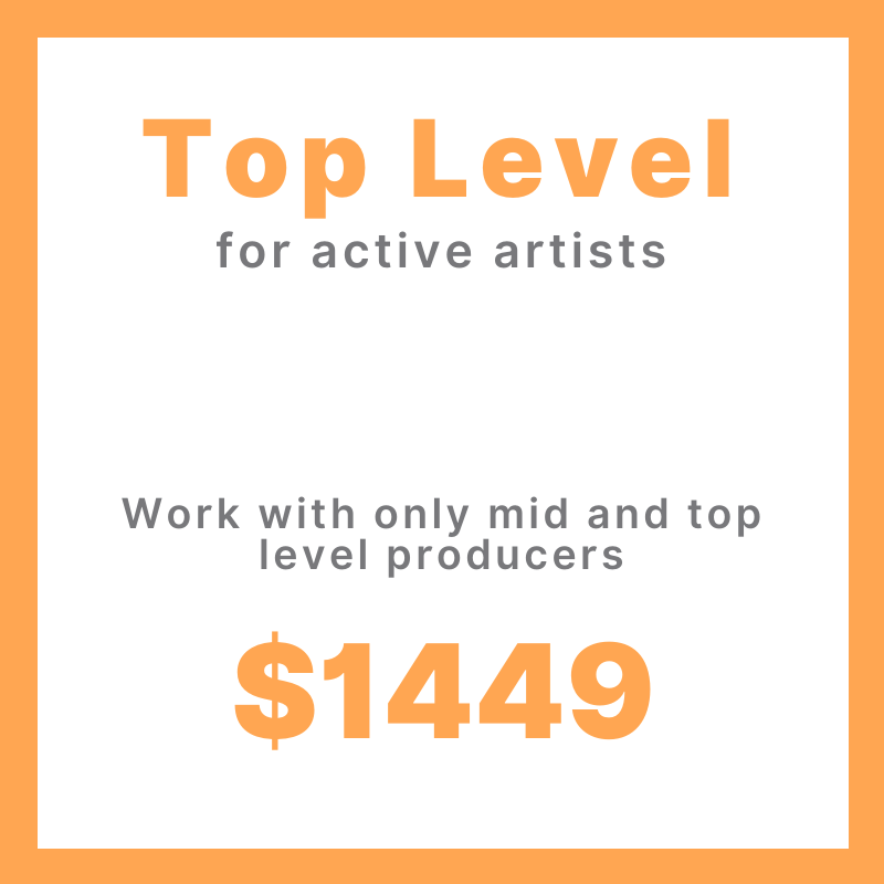 Top Level Song Production Project (active artist)
