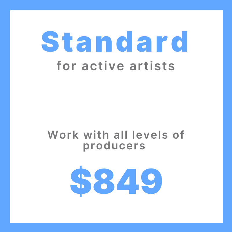 Standard Song Production Project (active artists)