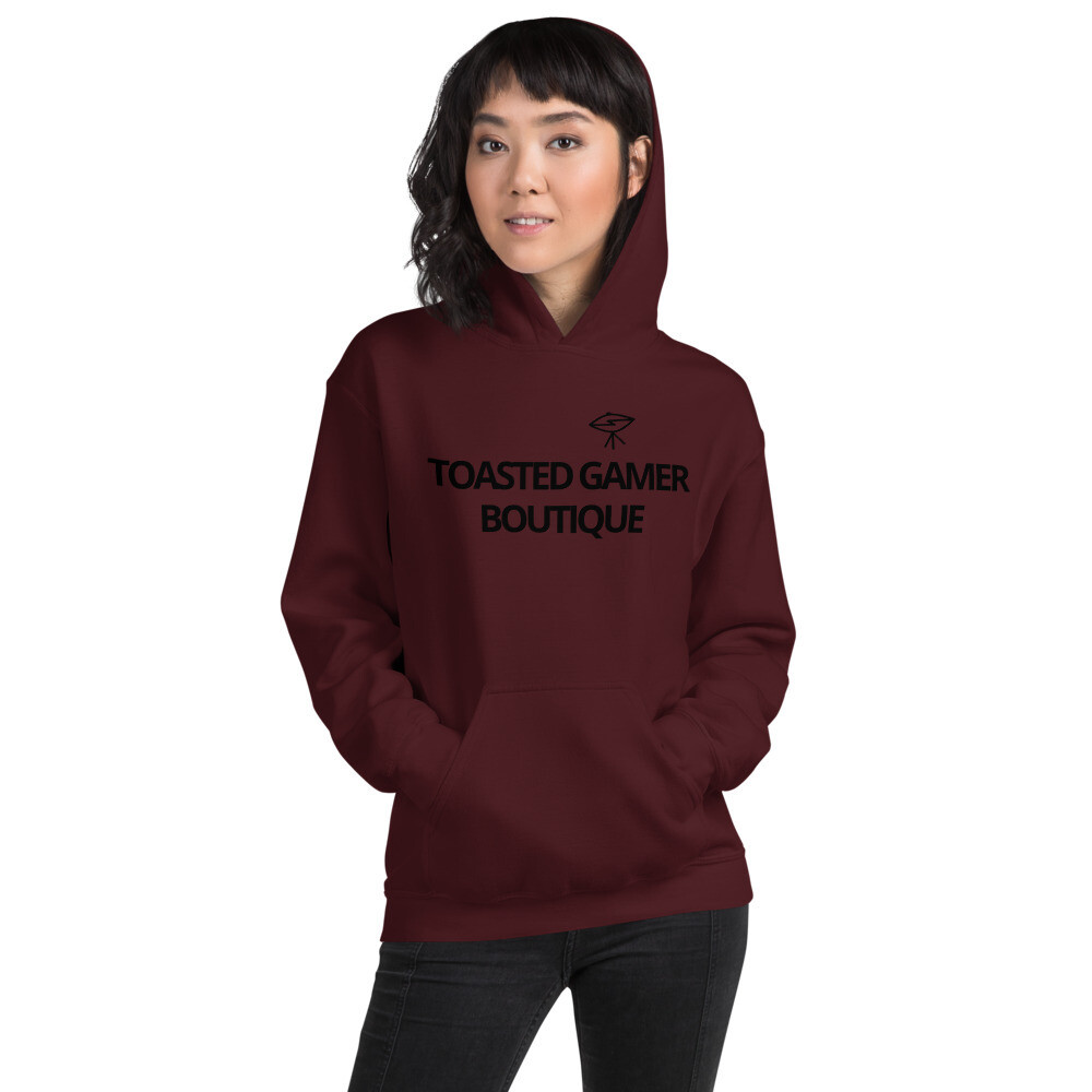 Toasted Gamer Boutique Unisex Hoodie With Space Ship