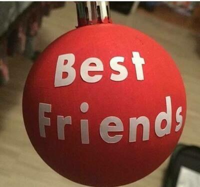 friend ornaments