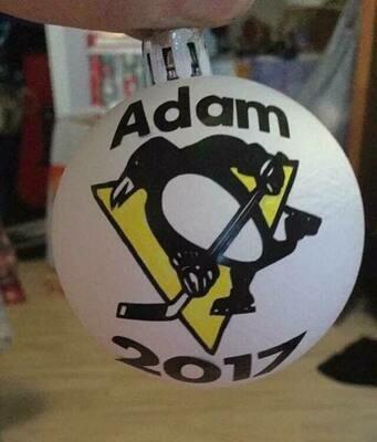 hockey ornaments