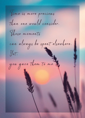 Premium Gratitude Cards: Sunset