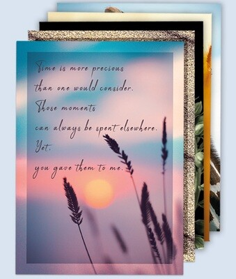 5-Pack Gratitude Cards